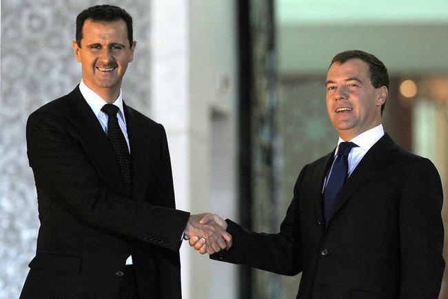 Dmitry Medvedev in Syria 10 May 2010 5 (1)